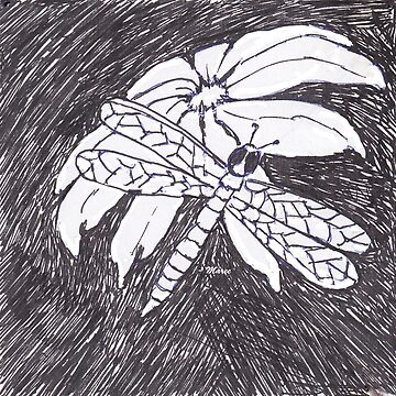 The Dragonfly and the Daisy by MareeClarkson