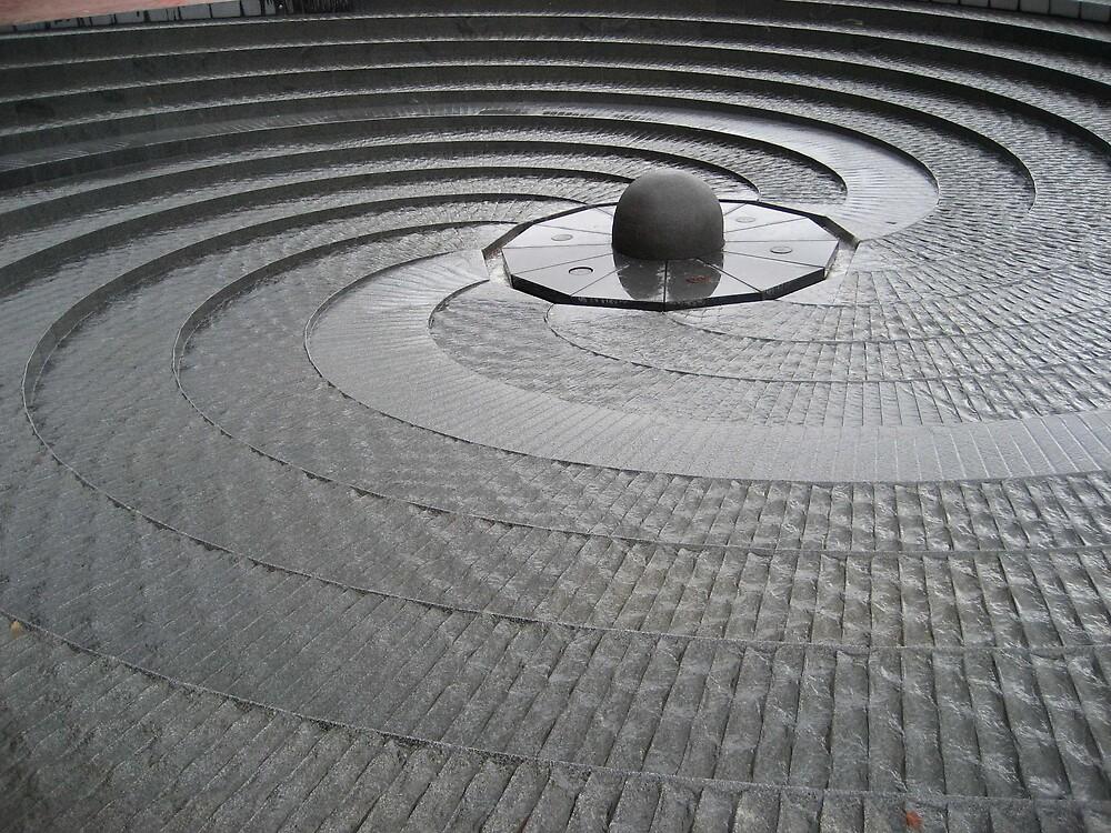 Swirls of water by judy