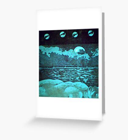 """Night Dreams"" -*FINALIST EMERGING ARTIST 2010 AWARD* Greeting Card"