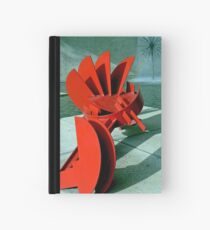 Sculpture in Red Hardcover Journal