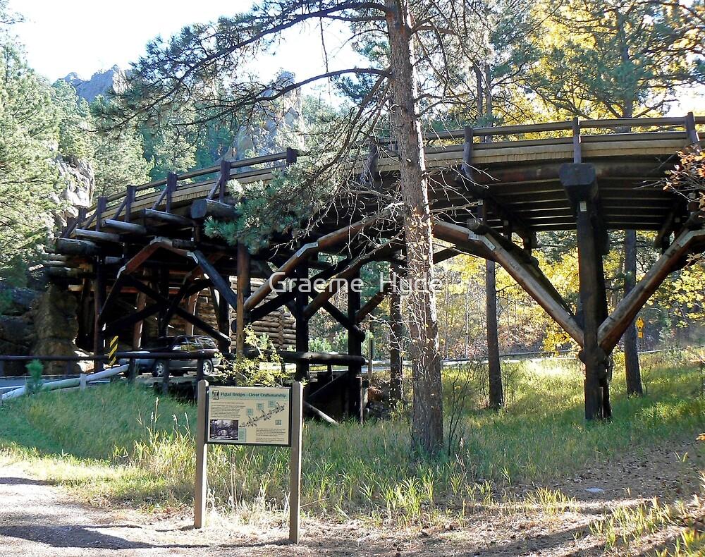 Pigtail Bridge, South Dakota by Graeme  Hyde