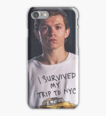 Tom Holland - I Survived NYC iPhone Case/Skin
