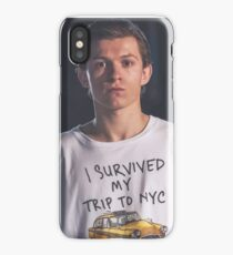 Tom Holland - I Survived NYC iPhone Case/Skin