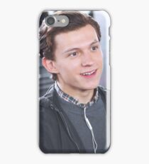 Tom Holland - On Set iPhone Case/Skin