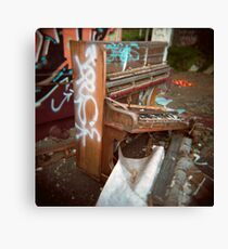 Trash Classical (Holga) #2 Canvas Print
