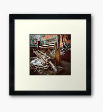 Trash Classical (Holga) Framed Print
