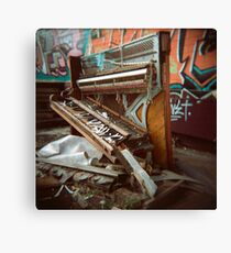Trash Classical (Holga) Canvas Print