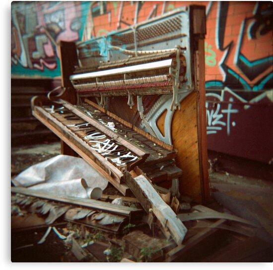 Trash Classical (Holga) by Michael Cudmore
