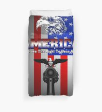 The Right To Bear Arms Duvet Cover