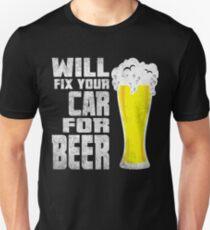 Car mechanice beer shirt T-Shirt