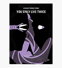 No277-007- You Only Live Twice minimal movie poster Photographic Print