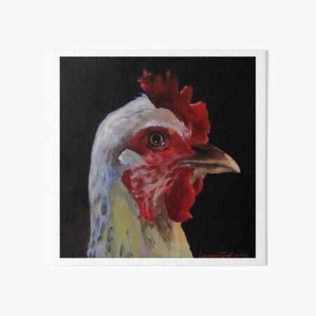 Fowl Mood Art Board Print