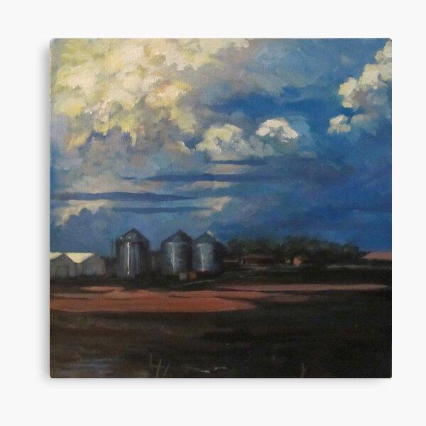 Mud Fields Canvas Print