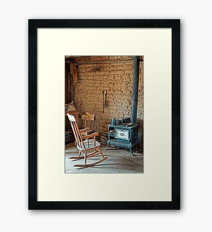 Sit A Spell #1 Framed Print