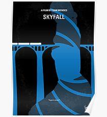 No277-007-2- Skyfall minimal movie poster Poster