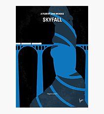 No277-007-2- Skyfall minimal movie poster Photographic Print