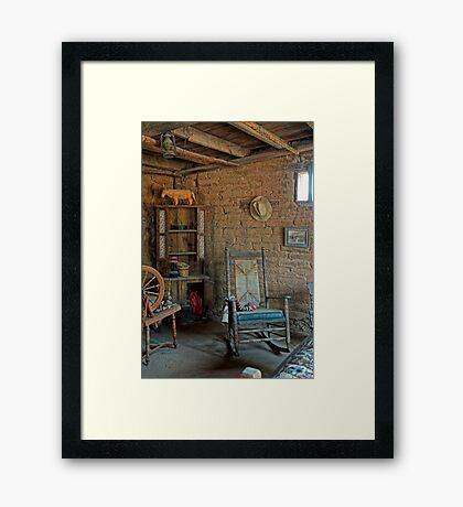 SIT A SPELL #2 Framed Print