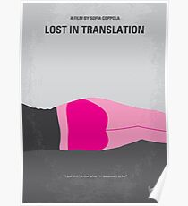 No287- Lost in Translation minimal movie poster Poster