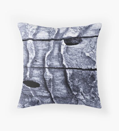 Chewed-Out Throw Pillow