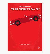 No292- Ferris Buellers freier Filmplakat Fotodruck
