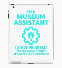 MUSEUM ASSISTANT - NICE DESIGN 2017 iPad Case/Skin