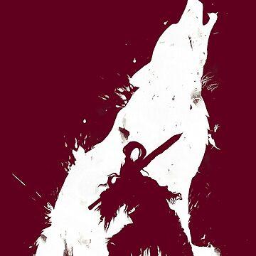 Dark Wolf by Fortenberry