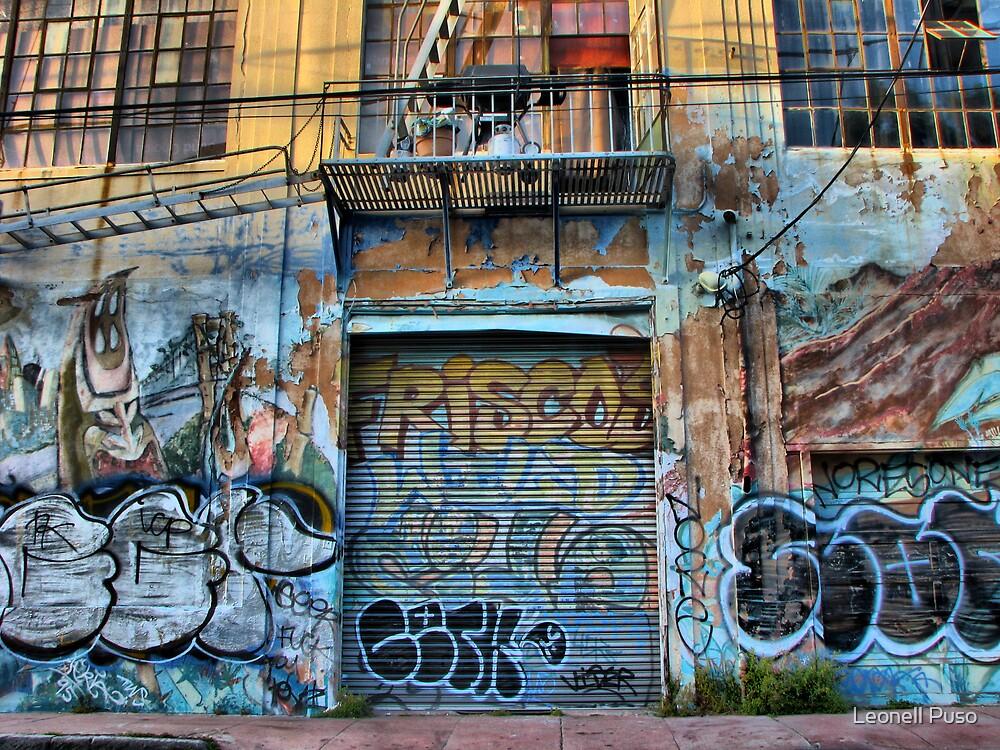 Graffiti Window by Leonell Puso
