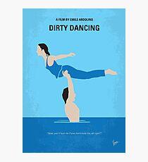 No298- Dirty Dancing minimal movie poster Photographic Print