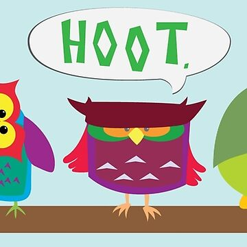 Colorful Owls by tomasquinones
