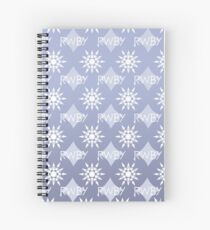 Weiss Schnee Spiral Notebook