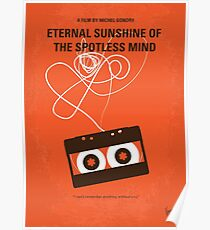 No384- Eternal Sunshine of the Spotless Mind minimal movie poster Poster