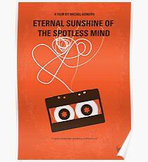No384 - Ewiger Sonnenschein des makellosen Geistes minimales Filmplakat Poster