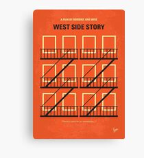 No387- West Side Story minimal movie poster Canvas Print
