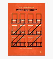 No387- West Side Story minimal movie poster Photographic Print