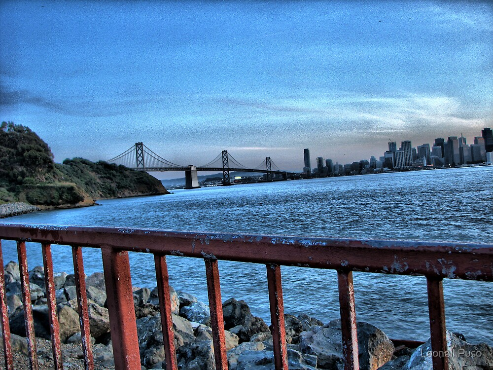 Bay Bridge by Leonell Puso