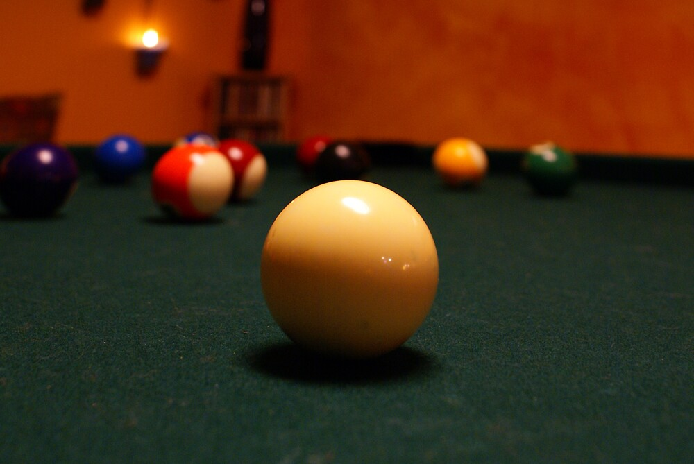 Cue Ball by Lisa Miller