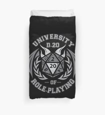 university of role playing Duvet Cover