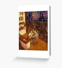A little special night Greeting Card