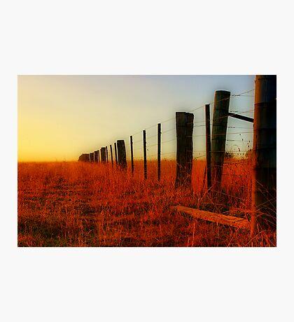 """The Boundary Line "" Photographic Print"