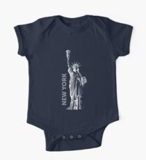 Liberty, New York - Linegraphic Popart - Freiheitsstatue, USA Kids Clothes