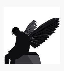 Travis Scott - Angel (Silhouette)  Photographic Print