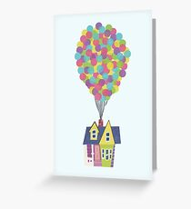 Balloon House Greeting Card