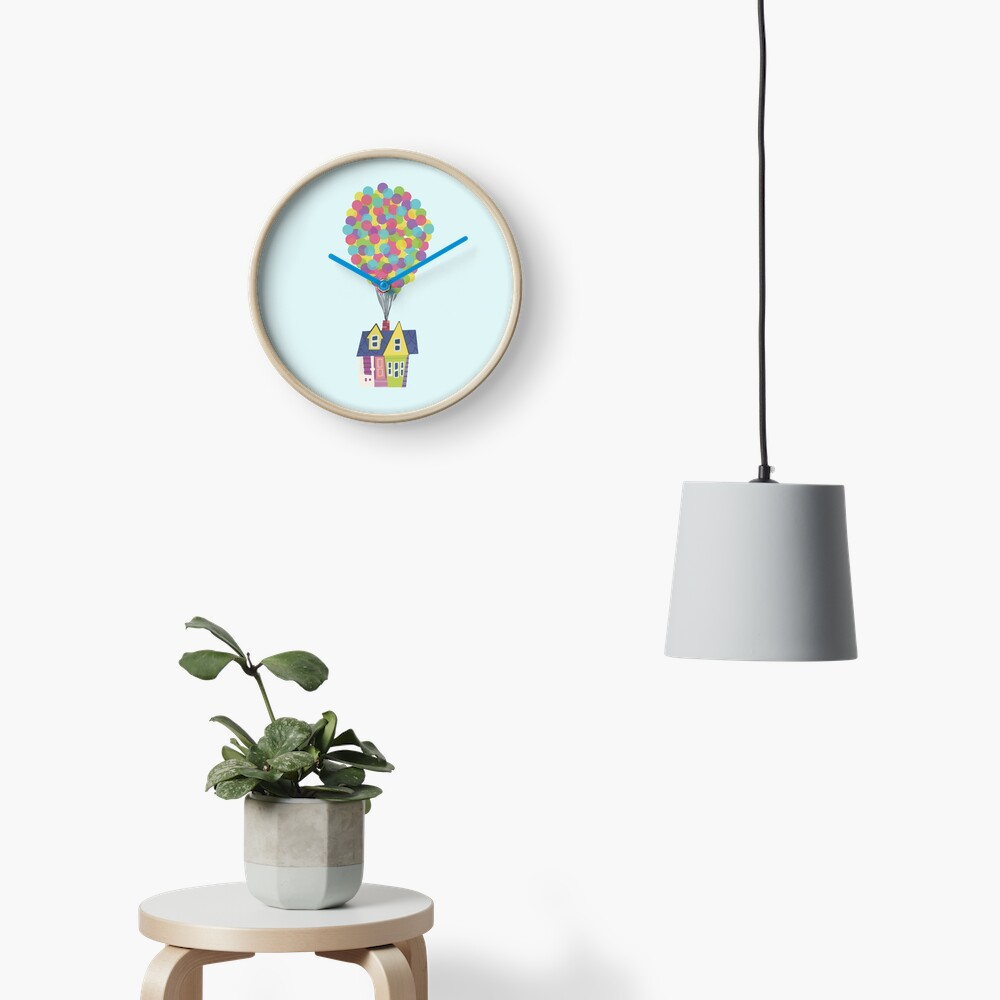 Balloon House Clock