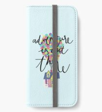 Adventure is out there  iPhone Wallet/Case/Skin