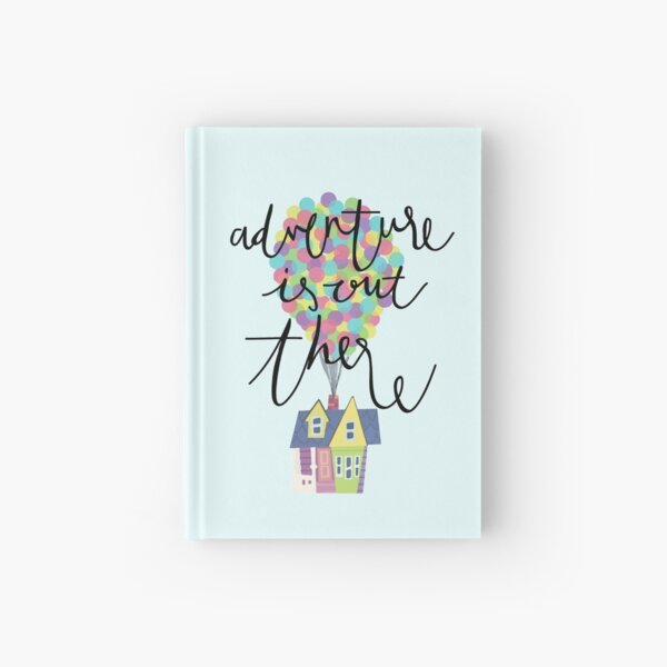 Adventure is out there  Hardcover Journal
