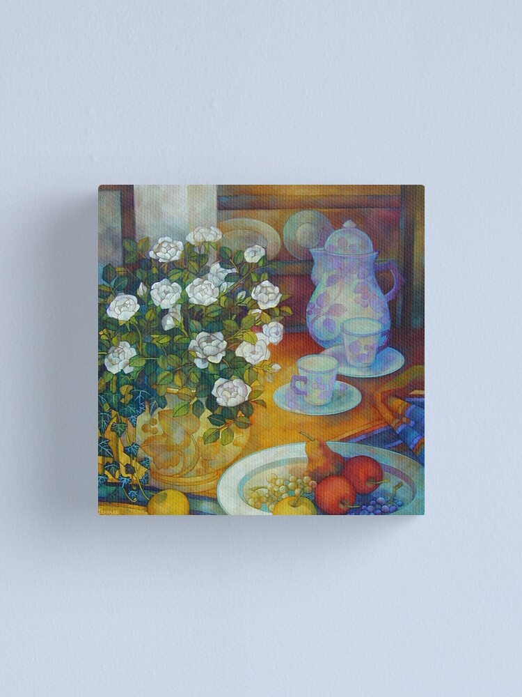 Alternate view of tea time Canvas Print
