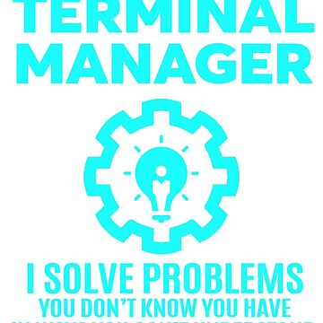 TERMINAL MANAGER - NICE DESIGN 2017 by millathanh