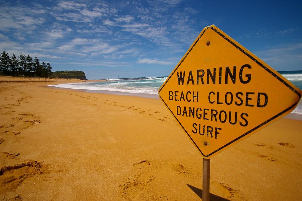 Beach closed by worthy87