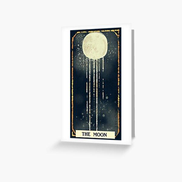 La lune Carte de vœux