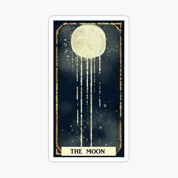 La lune Sticker